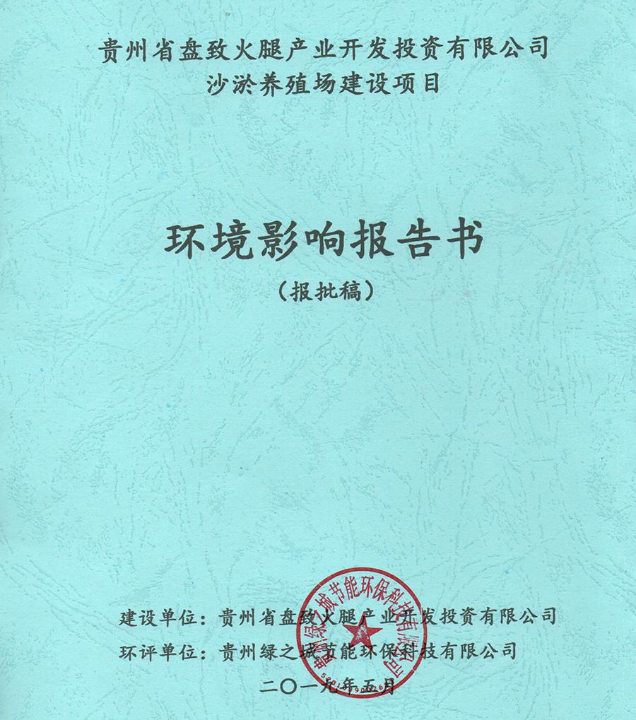 环境影响评价报告书(表)