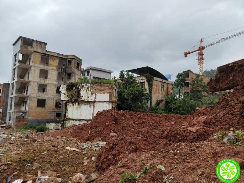 我公司工程师对某房开公司建设项目水土保持方案工作进行现场查勘